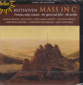 Ludwig van Beethoven / Mass in C Major / Corydon Singers and Orchestra / Matthew Best