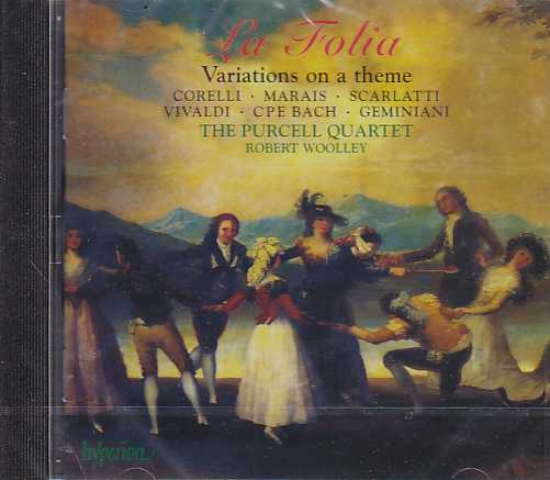 La Folia / Variations on a theme / The Purcell Quartet