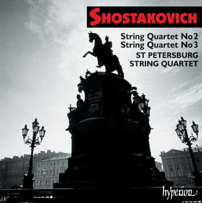 Dmitri Shostakovich / String Quartets 2 & 3 / St Petersburg String Quartet