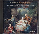 C.P.E. Bach / Flute Concertos / Rachel Brown / The Brandenburg Consort / Roy Goodman