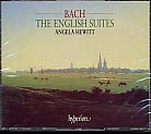 J.S. Bach / English Suites / Angela Hewitt 2CD