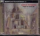 J.S. Bach / Piano Transcriptions 4 / The Feinberg Transcriptions / Martin Roscoe, piano