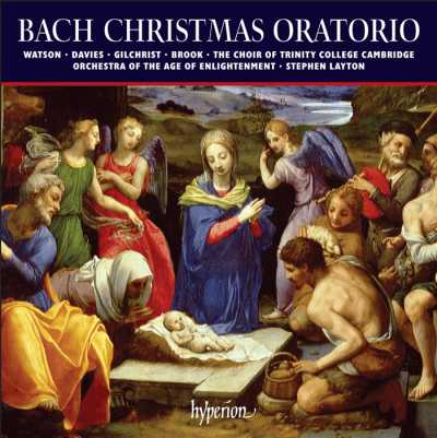 J.S. Bach / Christmas Oratorio (Weihnachtsoratorium) // Katherine Watson / Iestyn Davies / James Gilchrist / Matthew Brook / Orchestra of the Age of Enlightenment / Stephen Layton
