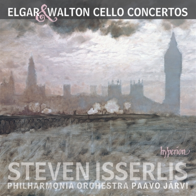 Edward Elgar / Cello Concerto / William Walton / Cello Concerto // Steven Isserlis / Philharmonia Orchestra / Paavo Järvi