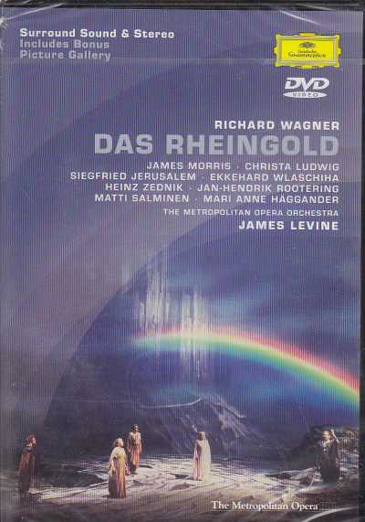Richard Wagner / Das Rheingold / James Morris / Christa Ludwig / Matti Salminen / The Metropolitan Opera Orchestra / James Levine DVD