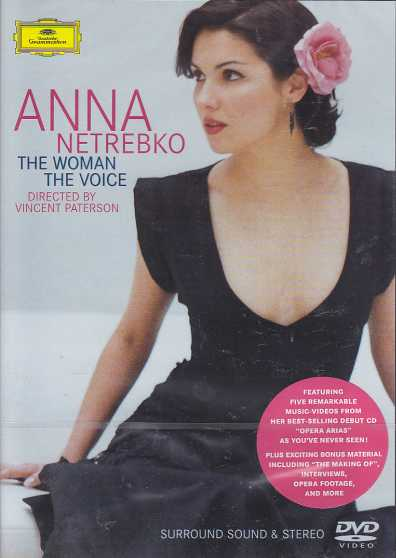 Anna Netrebko / The Woman -The Voice DVD