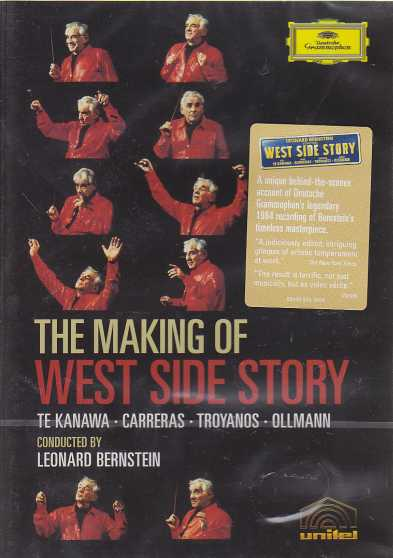 Leonard Bernstein / Making of West Side Story / Kiri Te Kanawa / José Carreras / Leonard Bernstein DVD