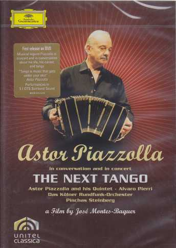 Astor Piazzolla / The Next Tango DVD