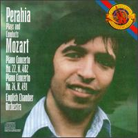 W.A. Mozart / Piano Concertos 22 & 24 // Murray Perahia / English Chamber Orchestra