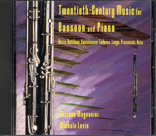 Luciano Magnanini & Michele Levin / Bassoon and Piano