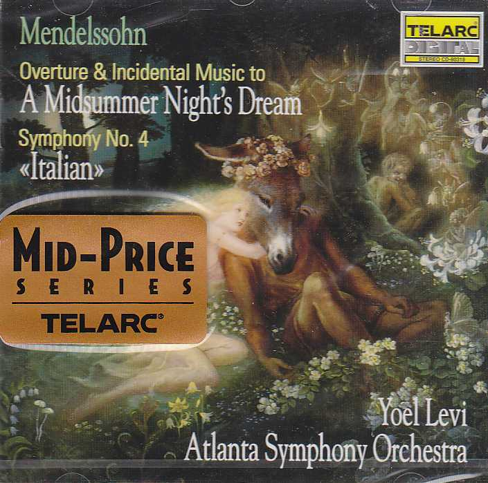 Felix Mendelssohn / Overture & Incidental Music to