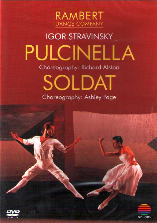 Igor Stravinsky / Pulcinella / Soldat / Rambert Dance Company / Richard Alston / Ashley Page DVD