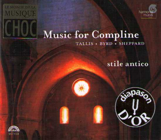 Thomas Tallis / William Byrd / John Sheppard / Music for Compline / stile antico