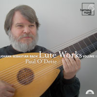 J.S. Bach / Lute Works, vol. 1 / Paul O'Dette