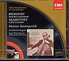 Sergei Prokofiev / Nikolai Miaskovsky / Sergei Rachmaninov / Works for Cello and Orchestra / Mstislav Rostropovich