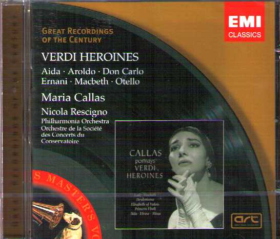 Verdi Heroines / Maria Callas / Great Recordings of the Century