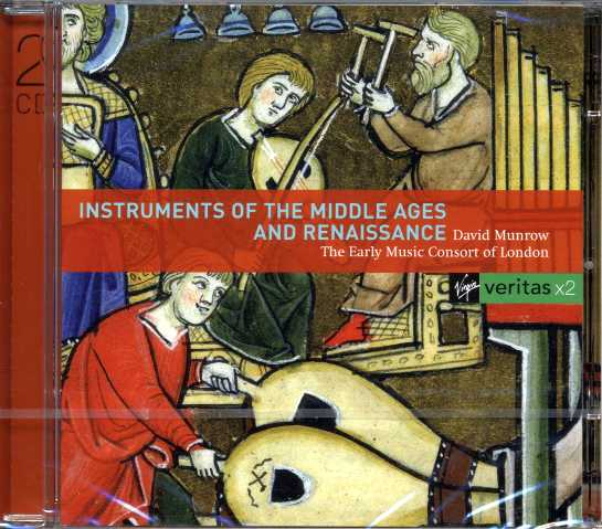 Instruments of the Middle Ages and Renaissance / Early Music Consort of London / David Munrow