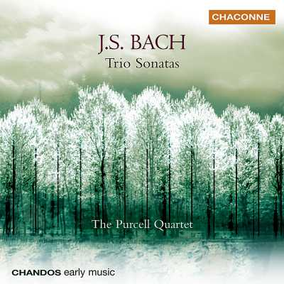 J.S. Bach / Trio Sonatas, BWV 525 - 530 / The Purcell Quartet