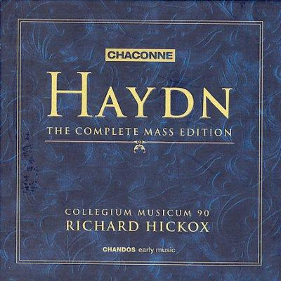 Joseph Haydn / The Complete Mass Edition / Collegium Musicum 90 / Richard Hickox 8CD