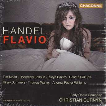 Georg Friedrich Händel / Flavio, Re de' Longobardi / Early Opera Company / Christian Curnyn 2CD