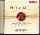 Johann Nepomuk Hummel / Potpourri / Violin Concerto etc. / James Ehnes / London Mozart Players / Howard Shelley