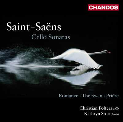 Camille Saint-Saëns / Works for Cello and Piano // Christian Poltéra / Kathryn Stott