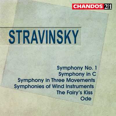 Igor Stravinsky / Symphonies (Complete) etc. // Royal Scottish National Orchestra / Simon Rattle / Neeme Järvi / Alexander Gibson