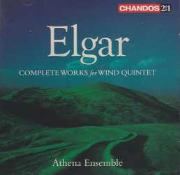 Edward Elgar / Complete Works for Wind Quintet / Athena Ensemble 2CD
