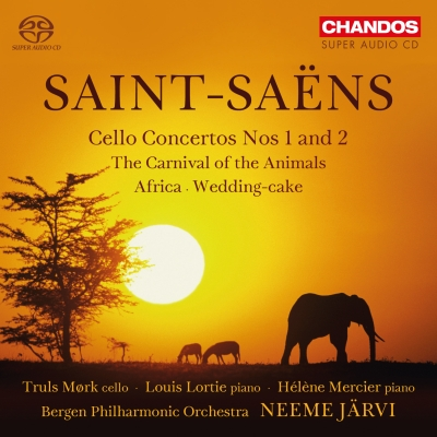 Camille Saint-Saëns / Cello Concertos (Complete) / Carnival of the Animals // Truls Mørk / Bergen Philharmonic Orchestra / Neeme Järvi