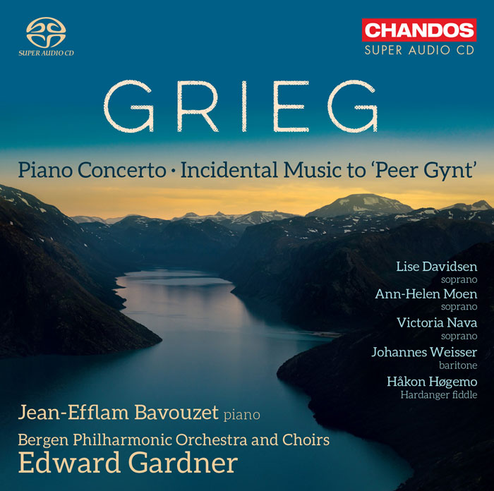 Edvard Grieg / Peer Gynt (Complete) / Piano Concerto // Jean-Efflam Bavouzet / Bergen Philharmonic Orchestra / Edward Gardner