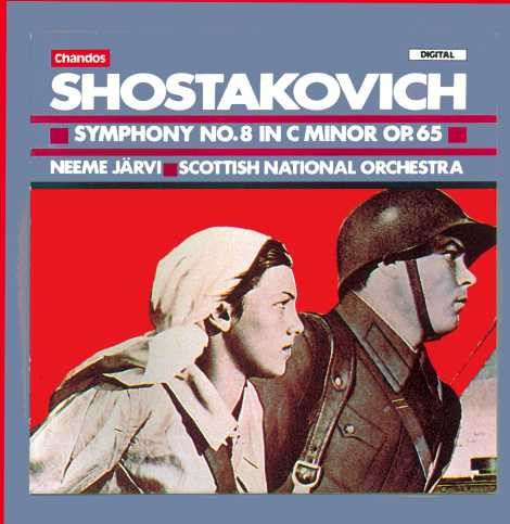 Dmitri Shostakovich / Symphony no. 8 / Scottish National Orchestra / Neeme Järvi