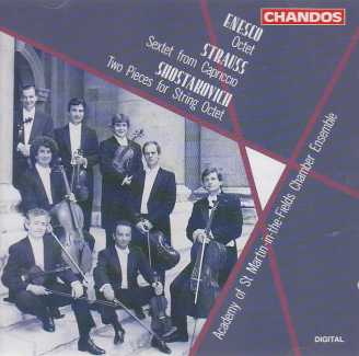 George Enescu / Richard Strauss / Dmitri Shostakovich / Academy of St. Martin-in-the-Fields Chamber Ensemble