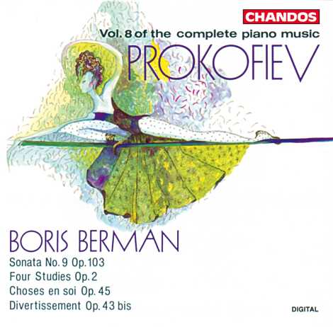 Sergei Prokofiev / Piano Music vol. 8 / Boris Berman