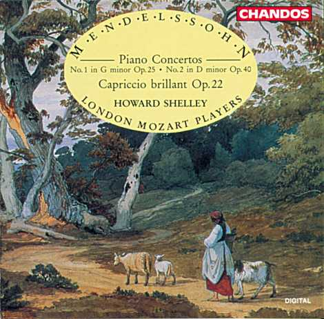 Felix Mendelssohn / Piano Concertos 1-2 / Howard Shelley / London Mozart Players