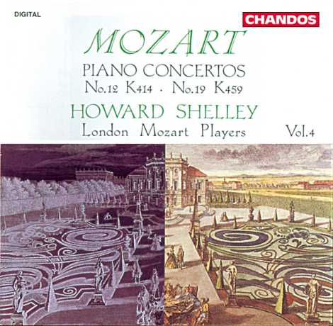 W.A. Mozart / Piano Concertos vol. 4 / Howard Shelley / London Mozart Players