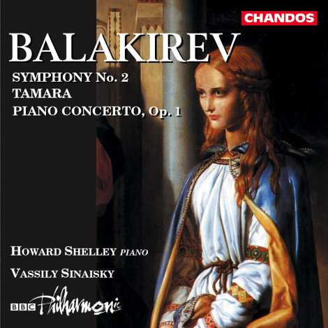 Mily Balakirev / Symphony No. 2 etc. / Howard Shelley / BBC Philharmonic / Vassily Sinaisky