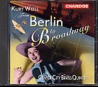 Kurt Weill / From Berlin to Broadway / Center City Brass Quintet