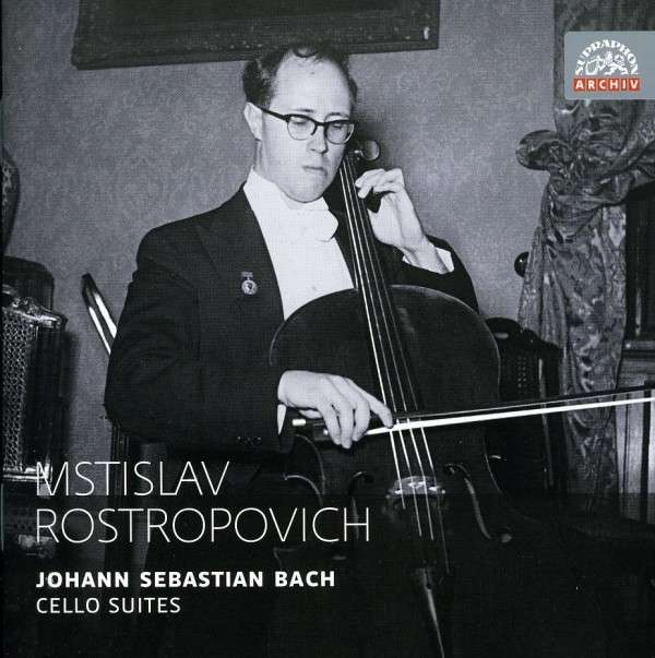 J.S. Bach / Cello Suites / Mstislav Rostropovich 2CD