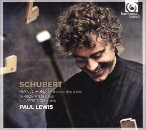 Franz Schubert / Piano Sonatas (Late) / Paul Lewis 2CD