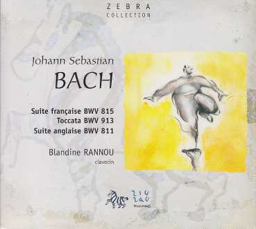 J.S. Bach / French Suite no. 4 / Toccata BWV 913 / English Suite no. 6 / Blandine Rannou
