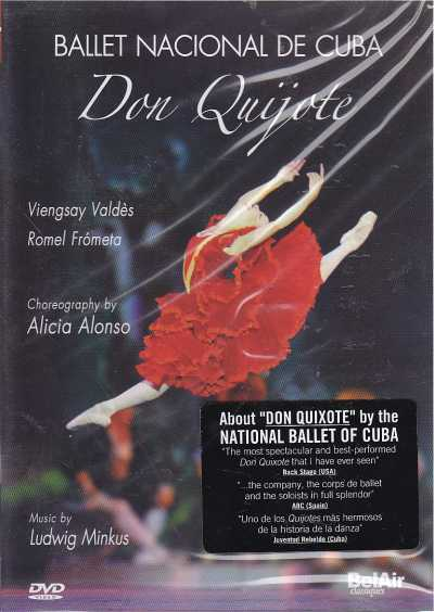 Ludwig Minkus / Don Quijote / Ballet Nacional de Cuba / Symphonic Orchestra of the Great Theatre of Havanna / Giovanni Duarte DVD