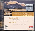 Dmitri Shostakovich / String Quartet no. 8 / Lera Auerbach / Sonnet for String Quartet / Petersen Quartett SACD
