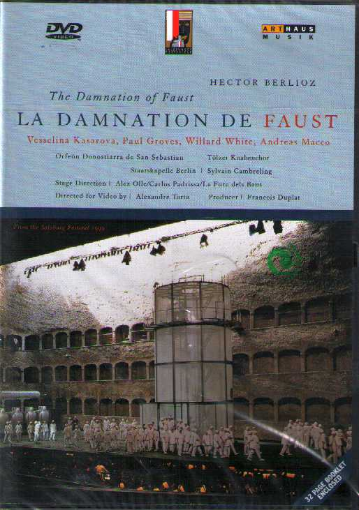 Hector Berlioz / La Damnation de Faust / Vesselina Kasarova / Paul Groves / Willard White DVD