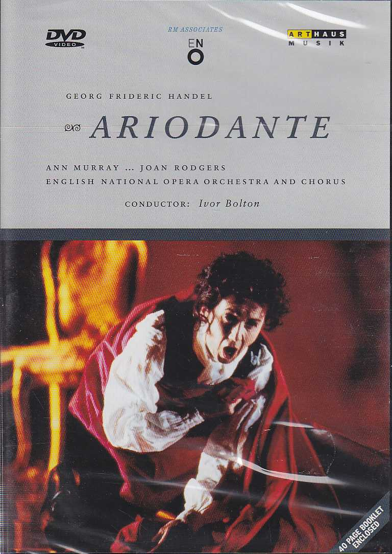 Georg Friedrich Händel / Ariodante / Ann Murray / Joan Rodgers / English National Opera Orchestra and Chorus / Ivor Bolton DVD