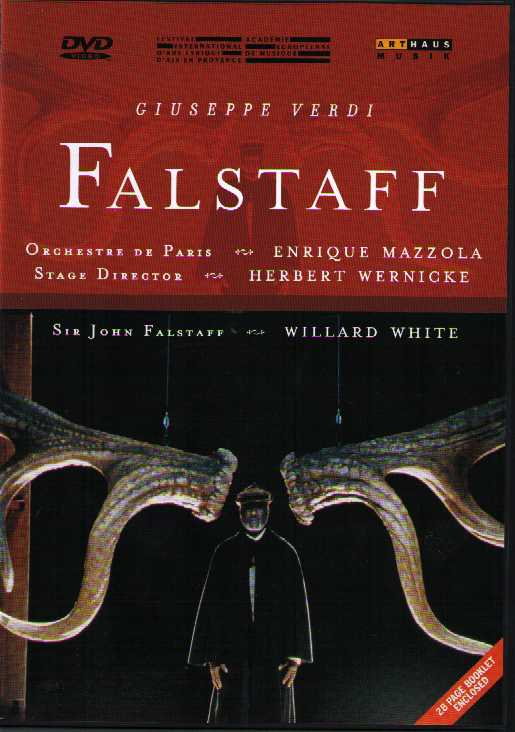 Giuseppe Verdi / Falstaff / Willard White / Orchestra de Paris DVD