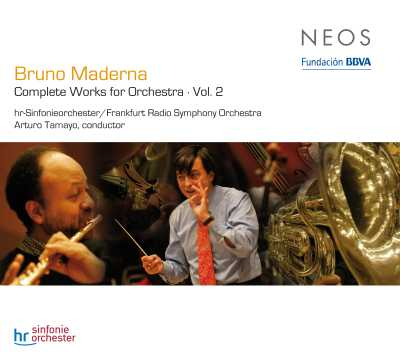 Bruno Maderna / Complete Works for Orchestra, vol. 2 / Arturo Tamayo