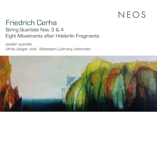 Friedrich Cerha / String Quartets no. 3 & 4 / Eight Movements after Hölderlin Fragments // Stadler Quartett