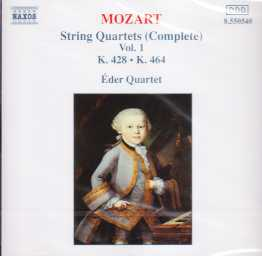 W.A. Mozart / String Quartets vol. 1 / Eder Quartet