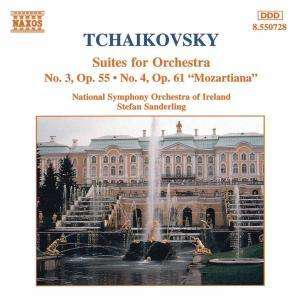 Pyotr Tchaikovsky / Suites no. 3 & 4 // National Symphony Orchestra of Ireland / Stefan Sanderling