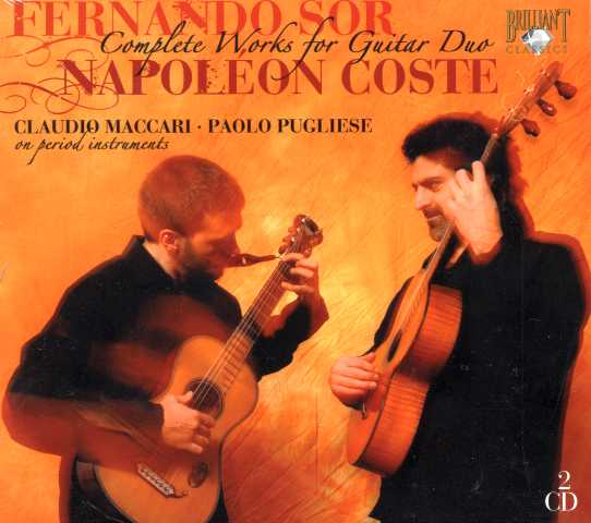 Fernando Sor / Napoléon Coste / Complete Works for Guitar Duo / Duo Maccari-Pugliese